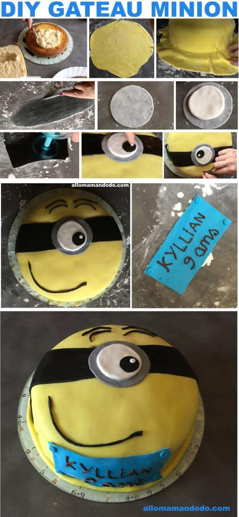 diy minion cake gateau