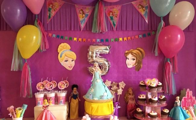 Son Anniversaire Princesse Sweettable Déco Et Activités