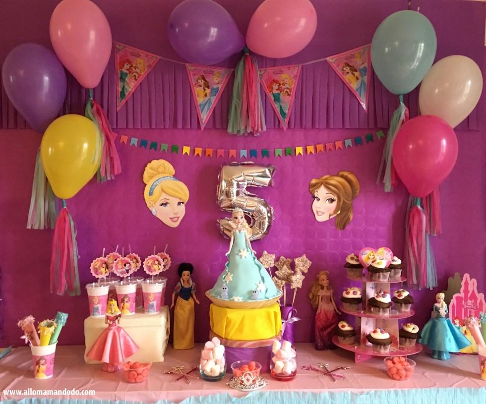 anniversaire princesses