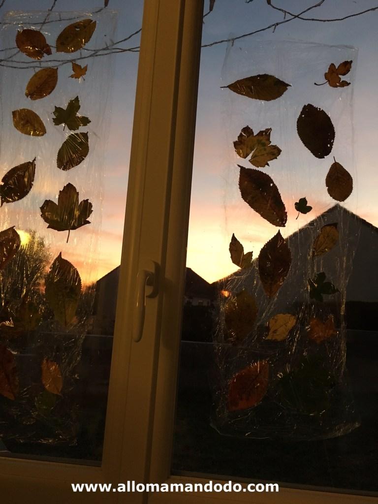 dit feuilles d'automne enfants