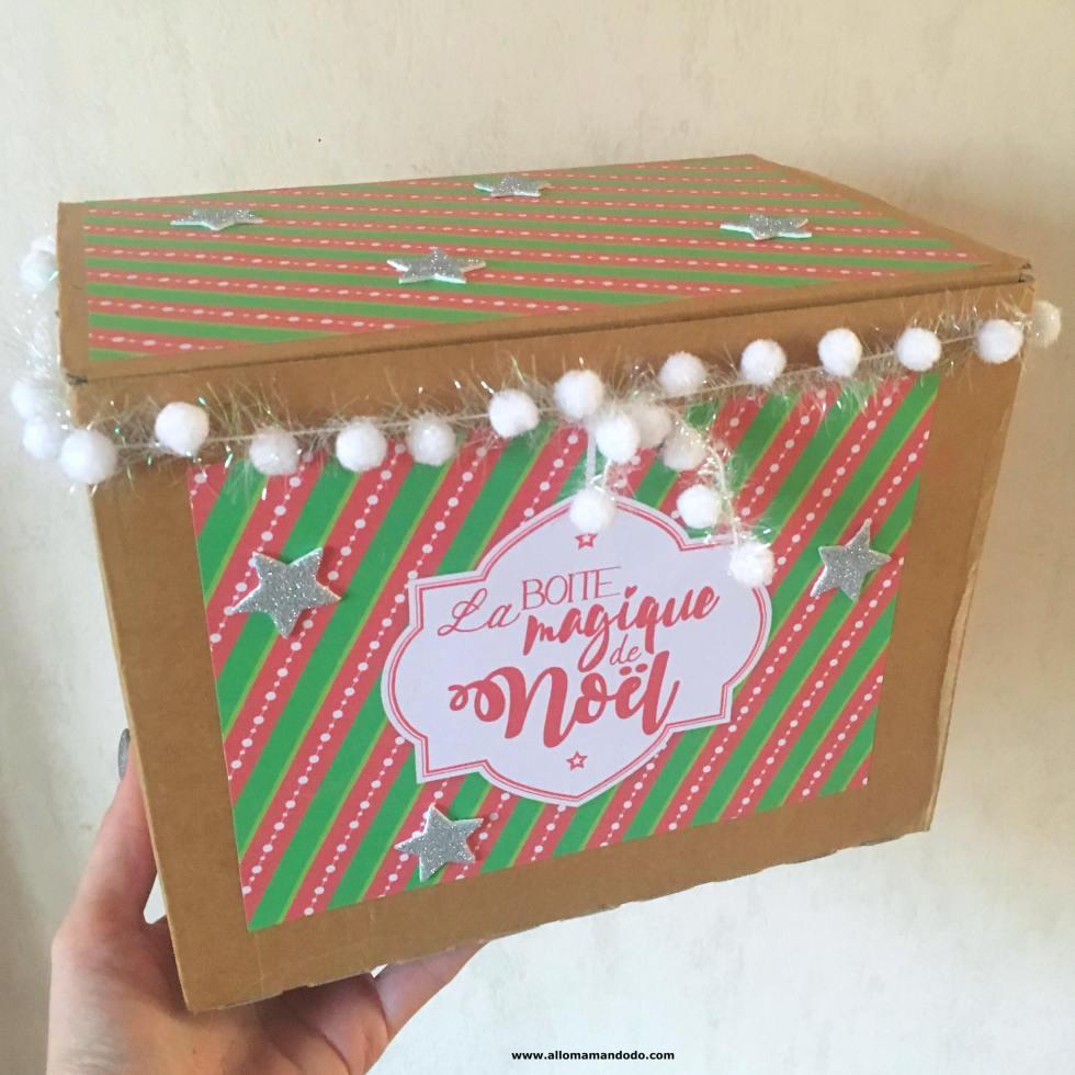 La Boite Magique De Noel Alternative Facile Au Calendrier De L Avent Allo Maman Dodo