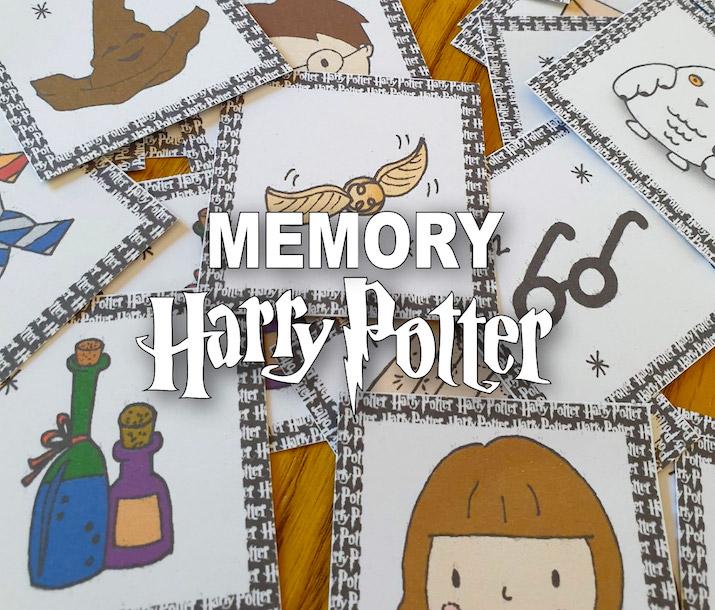 Memory Harry Potter A Imprimer Telechargement Gratuit Allo Maman Dodo
