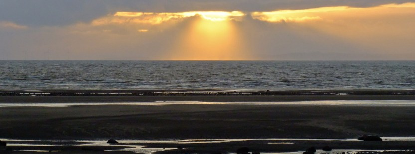 Sunset on Solway