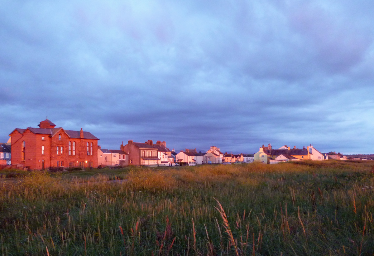 Allonby at dusk
