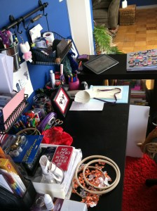A place for (almost) everything. And everything in its place