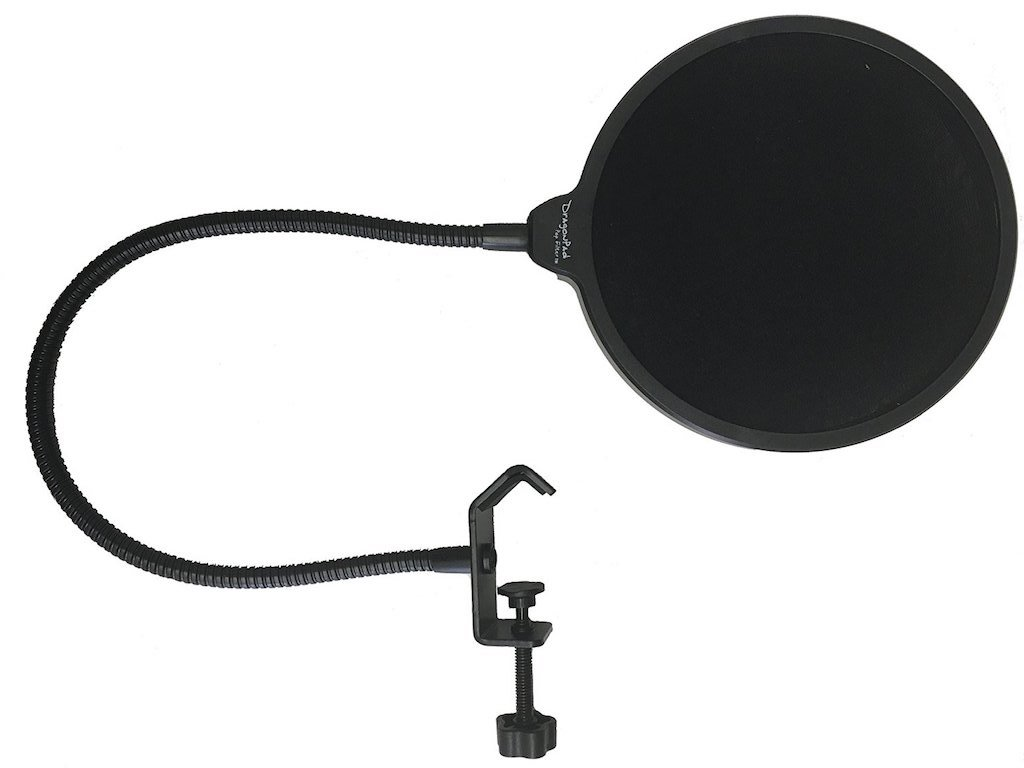 Microphone Pop Filter (Dragon Pad)