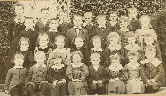 1902 - Miss Caroline Johnston (Headmistress), Miss A M Witter (Mrs Carter, mother of Mr Denis Carter