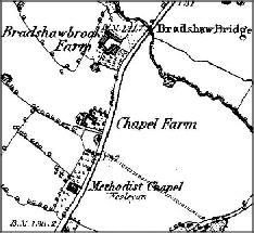 Bradshaw Brook Map