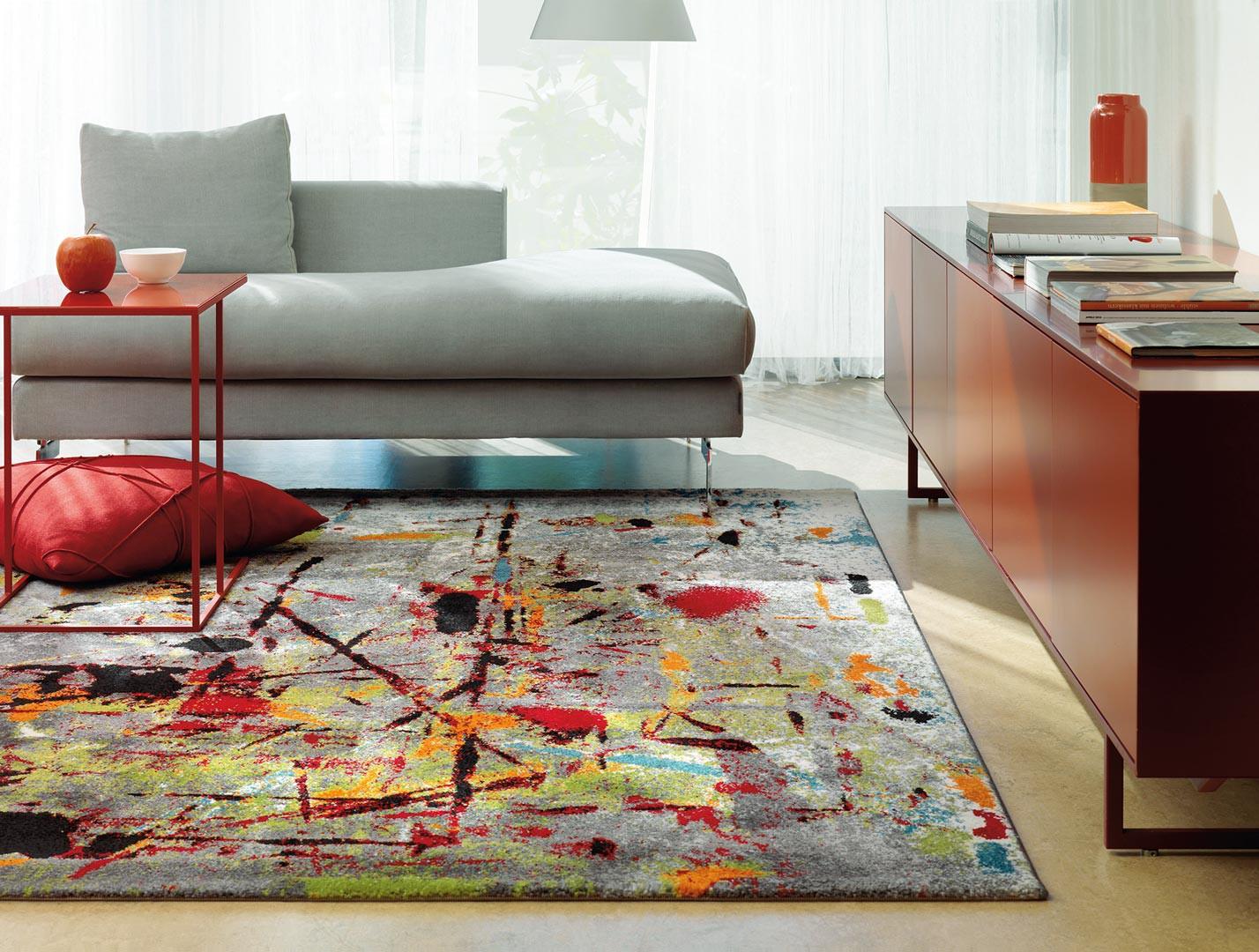 tapis salon multicolore tapis rond salon amazon tapis. Black Bedroom Furniture Sets. Home Design Ideas