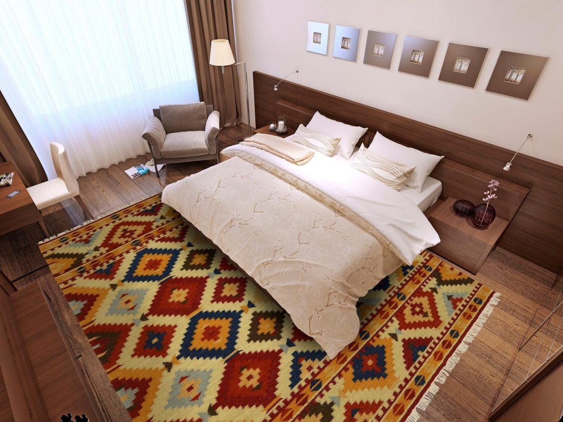 tapis multicolore pour plus de bonne humeur