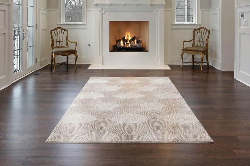 tapis de salon design