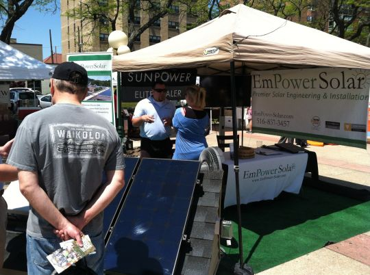 Empower Solar at Greenfest