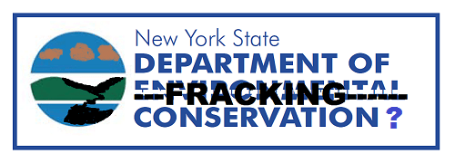 New York Dept. of Fracking