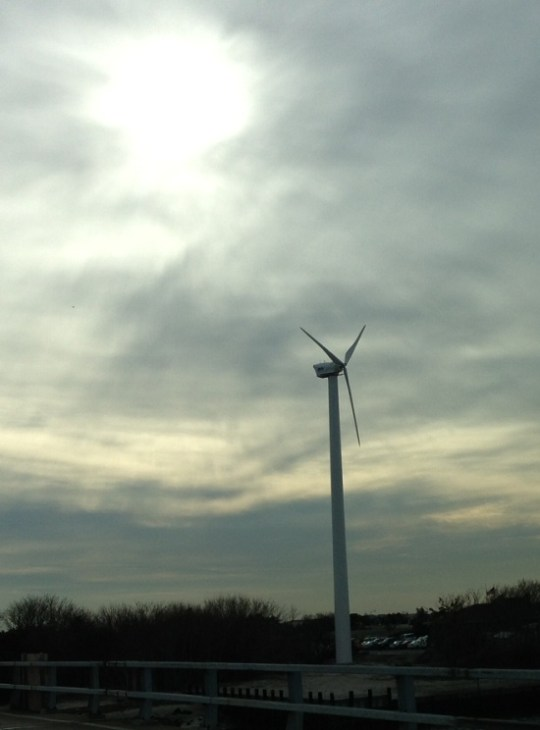 """Point Lookout Town of Hempstead Wind Turbine Marking the first anniversary of our local """"landmark to energy independence!"""" Congratulations to the town!"""