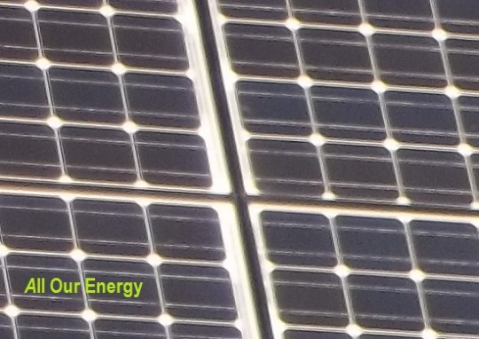 Honor Earth Day; Support Solar, Wind and The Environment!