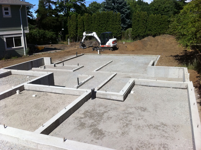 House Construction Foundation For House Construction