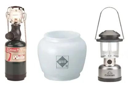 top camping lantern