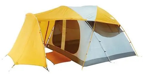 An outdoor gear nerd is going to appreciate all the bells and whistles The North Face equipped while the average family ...  sc 1 st  Outdoors Guide & North Face Kaiju 6 Tent Review - Is it a Good 6 Person Tent? - All ...