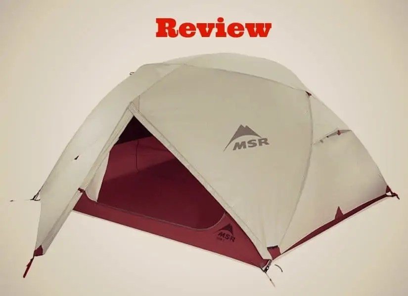 A Review of the MSR Elixir 3 Tent