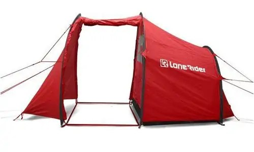 You can really use any tent for motorcycle c&ing but if you can choose a shelter designed for motorcyclists by motorcyclists wouldnu0027t you?  sc 1 st  Outdoors Guide & The Top 3 Best Motorcycle Tents to Keep Your Bike Park Your Bike ...