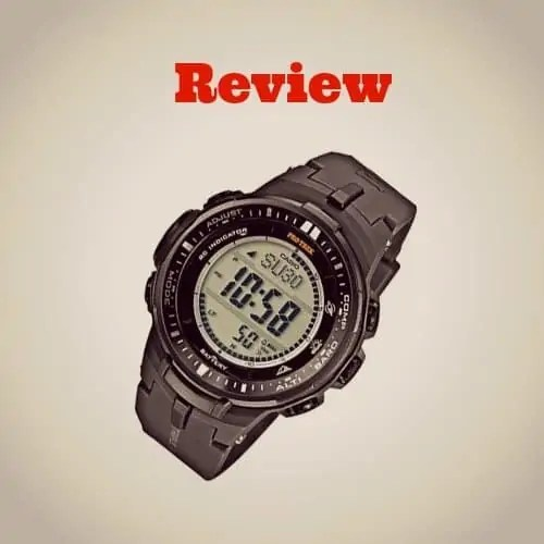 A Review of Casio ProTrek PRW3000