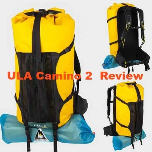 ula camino 2 backpack review