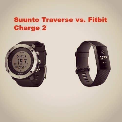 Suunto Traverse vs. Fitbit Charge 2
