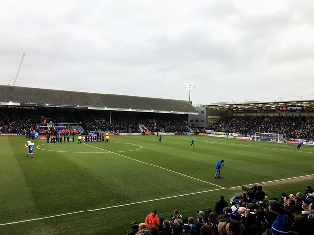 Supporting Steve Evans's Peterborough United as a neutral!