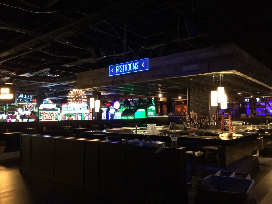 A look around Lucky Strike Social at Crossgates  All Over