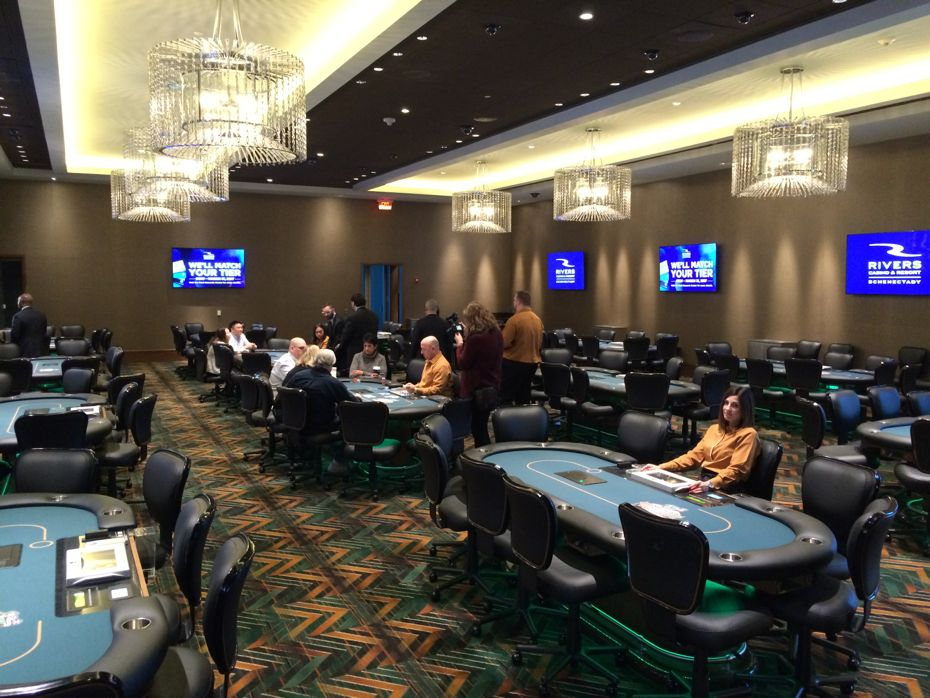 Gawking at the new Rivers Casino and Resort in Schenectady
