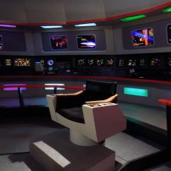 Star Trek Captain S Chair Plans White Tufted High Back William Shatner Is Going To Be At That Set Tour In Ticonderoga Captains
