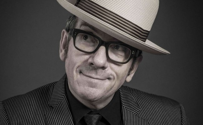 Elvis Costello At The Palace All Over Albany