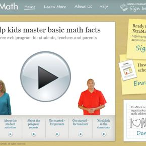 adding XtraMath to the equation
