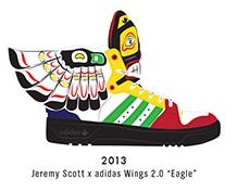 Jeremy Scott Adidadas Wings