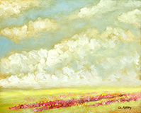 Spring Approaches  by Liz Ashley Oil on Panel
