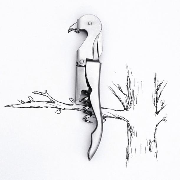 Bottle opener Parrot.  Image: @mr.kriss on Instagram