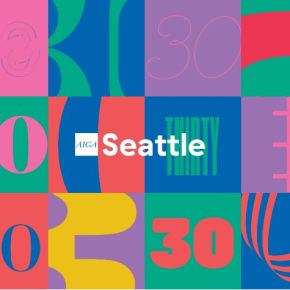 AIGA seattle celebrates 30.