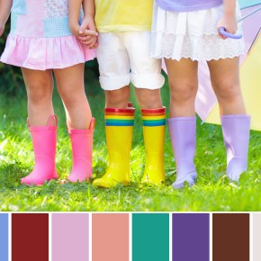 2018 spring color palette
