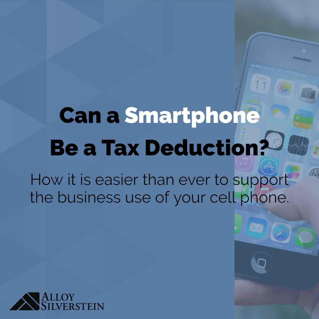 Can A Smartphone Be A Tax Deduction?