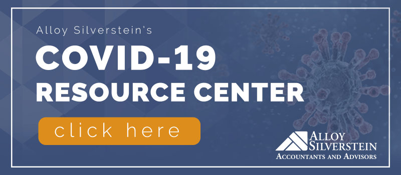 COVID-19 Resource Center from Alloy Silverstein CPA Firm Accountants and Advisors NJ