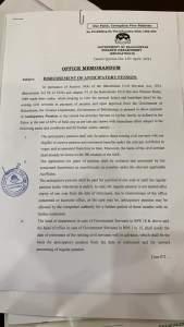 Office Memorandum   Disbursement of Anticipatory Pension   Government of Balochistan Finance Department (Regulation-II)   April 15, 2021 - allpaknotifications.com
