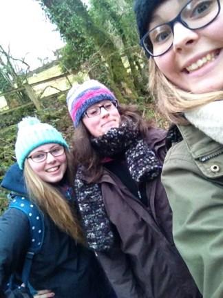 Aimee, Ellie and I