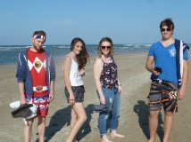 Cool kids at the beach