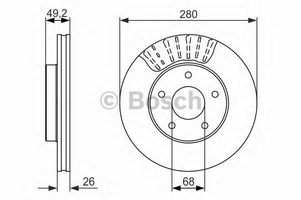 Bosch brake pad and spare parts for Nissan Car & Trucks