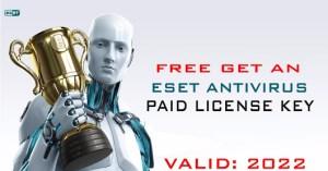 eset nod32 internet security free license key
