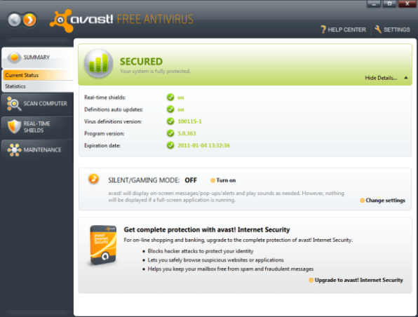 Avast Antivirus Download 2014 Free