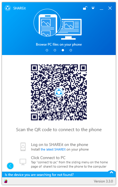 ShareIt Welcome Screen UI Free Download