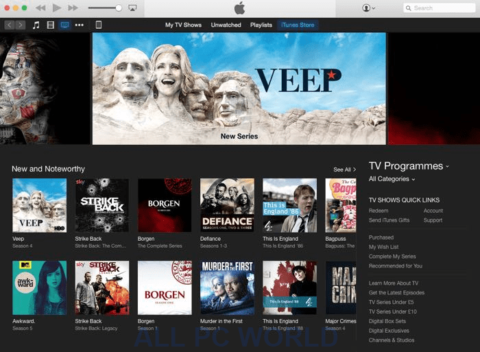 iTunes 12.5.1 For Windows Free Download