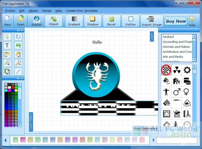 LogoSmartz Logo Creator Review and Features