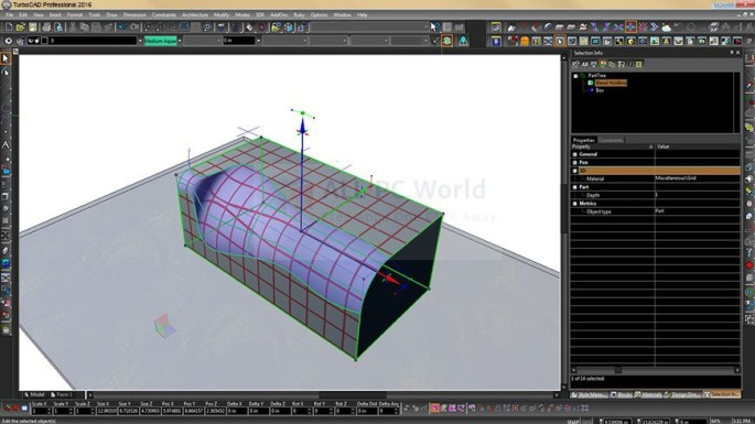 TurboCAD Pro Platinum 2016 Review and Features